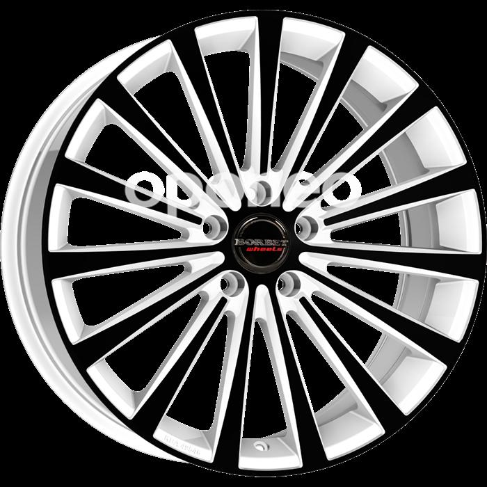 Oponeo Felgi Aluminiowe Borbet Blx White Black Glossy