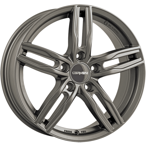 Carmani 14 Paul Hyper Gun Metal 6,50x16 5x108,00 ET45,00