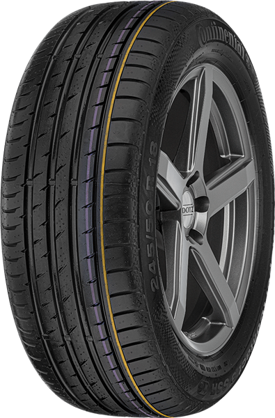 Continental ContiSportContact 3 245/45 R19 98 W RUN ON FLAT FR,*