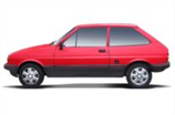 opony do Ford Fiesta Hatchback II