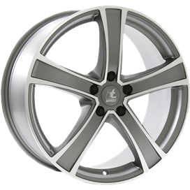 itWHEELS Emma Anthracite Polished