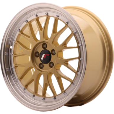 Japan Racing JR23 Gold 7,00x16 4x100,00 / 4x114,30 ET40,00