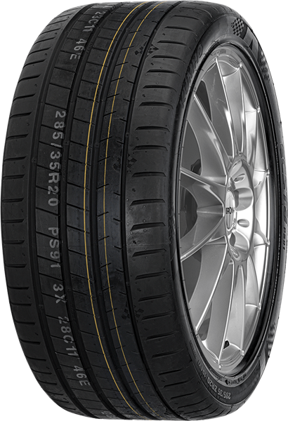 Kumho Ecsta PS91 225/35 R19 88 Y XL, ZR