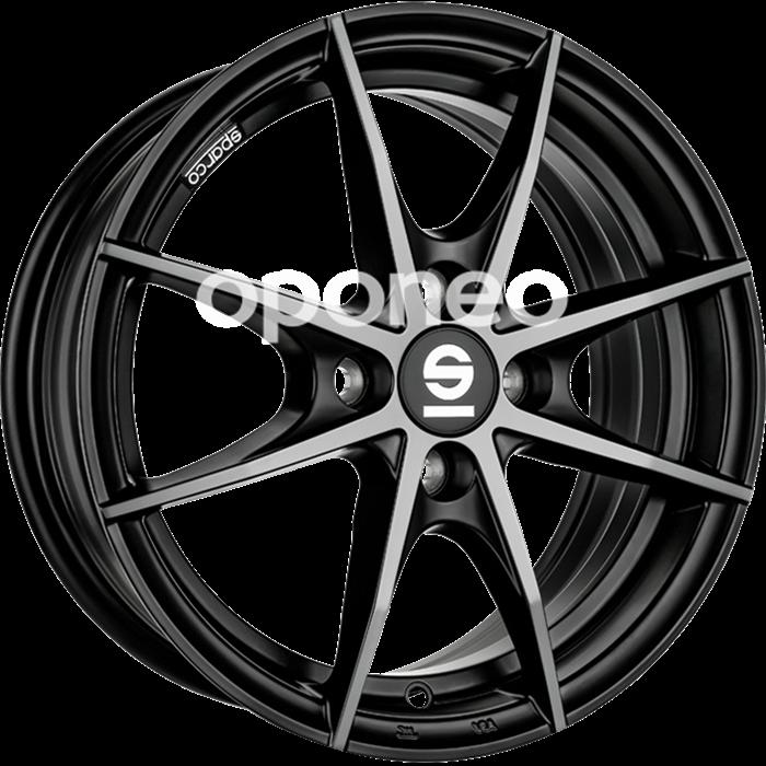 Oponeo Felgi Aluminiowe Sparco Trofeo 4 Black Polished