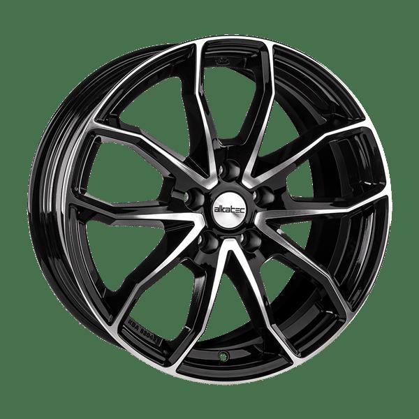 Oponeo Felgi Aluminiowe Alkatec Rx10 Black Polished 750x17 5x114