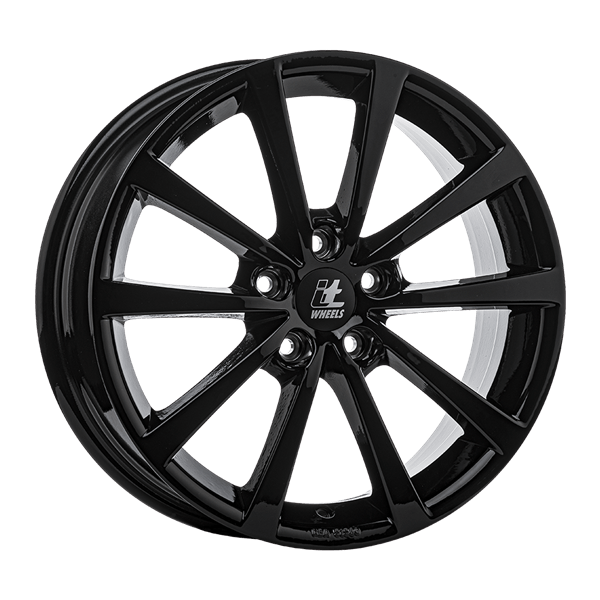 itWHEELS Alice Gloss Black 7,00x17 5x108,00 ET45,00