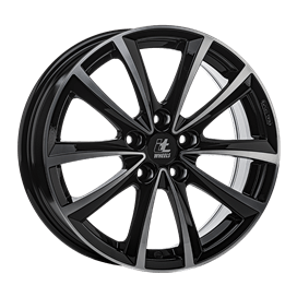 itWHEELS Elena Black Polished