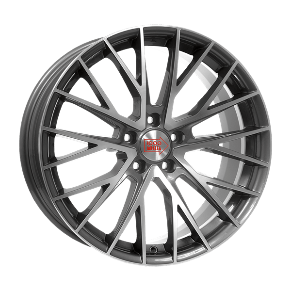 Oponeo Felgi Aluminiowe Mille Miglia Mm1009 Dark Anthracite Polished