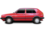 opony do VW Golf Hatchback II